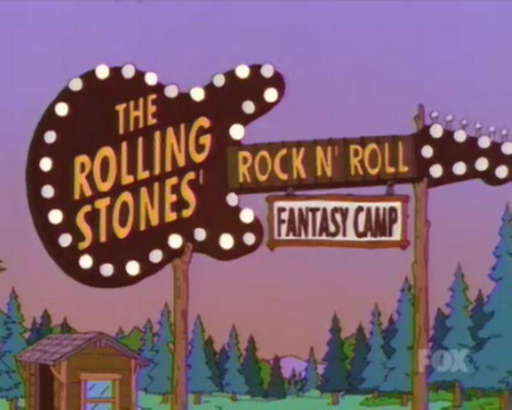 The Rolling Stones Rock N' Roll Fantasy Camp | Simpsons ... - photo#23