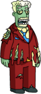 Tapped Out Brockman Zombie