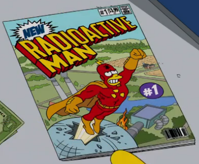 Image result for the simpsons radioactive man