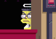 The Simpsons Frank Grimes Grimey Pixelated Version