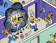 Frank Grimes Grimey in The Simpsons Comics 211