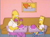 File:Bart and Homer Eat Dinner.jpg