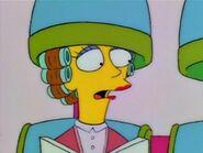 Maude at the Salon