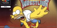 Simpsons Wrestling