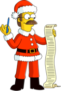Santa Flanders Tapped Out