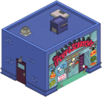 The Itchy and Scratchy Store Tapped Out