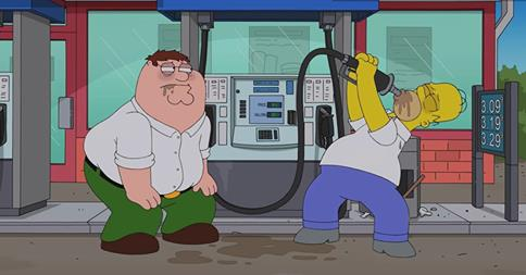 File:Peter and homer drinking gas.jpg