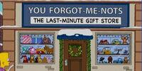 You Forgot-Me-Nots