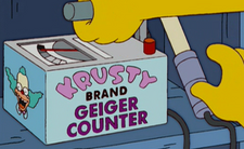 Krusty Brand Geiger Counter