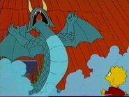 Dragon's jurassic park t-rex roar