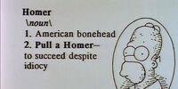 Homer (word)