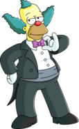 Tuxedo Krusty Tapped out