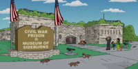 Civil War Prison and Museum of Sideburns
