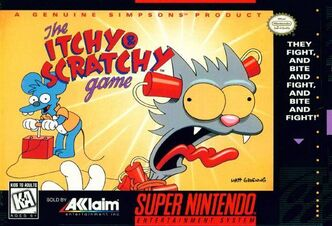 Itchy and scratchy game