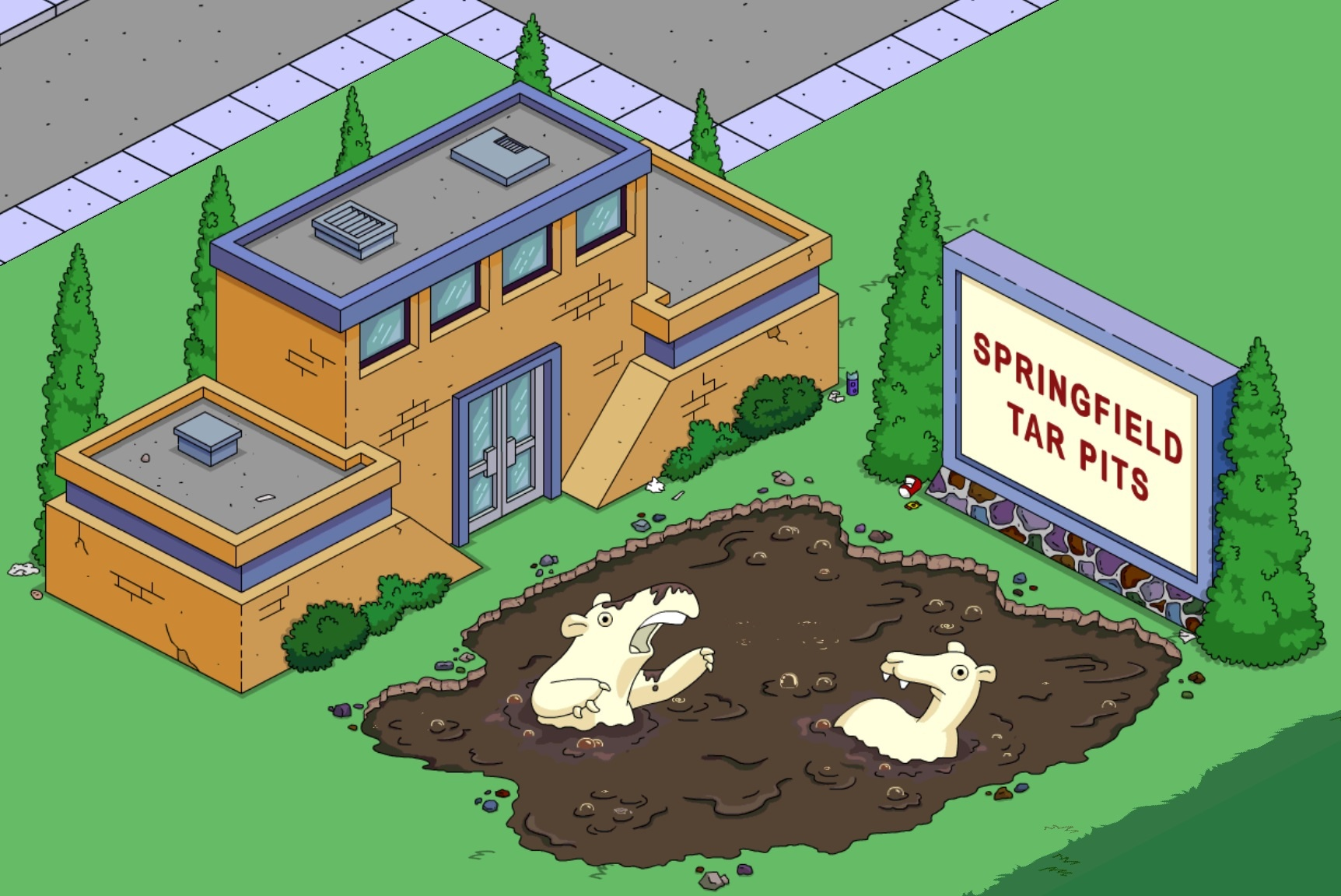 tar pits the simpsons tapped out wiki fandom powered