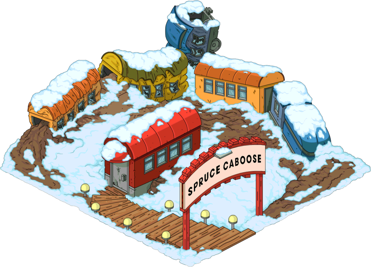 Spruce Caboose The Simpsons Tapped Out Wiki Fandom