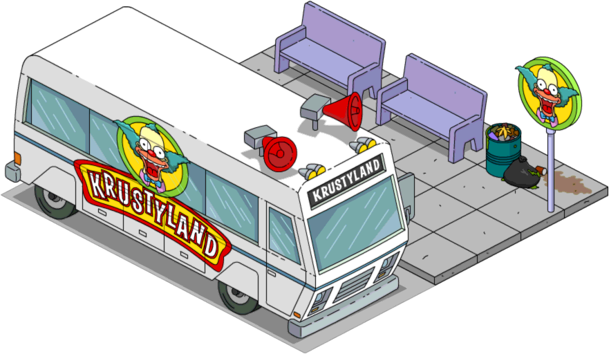 Krustyland Shuttle The Simpsons Tapped Out Wiki