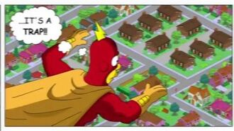 The Simpsons Tapped Out - The Death of Radioactive Man