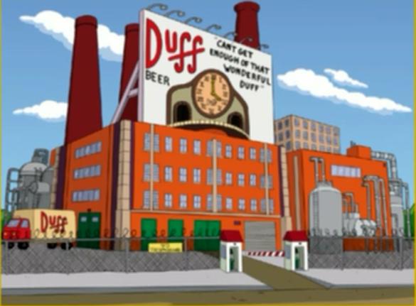 Résultats de recherche d'images pour «duff brewery»