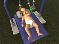 Baby play mat