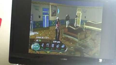 The Urbz Sims in the City VIP Room glitch