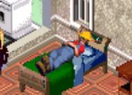 Hayseed Asleep