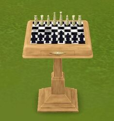 King of the Park Chess Table