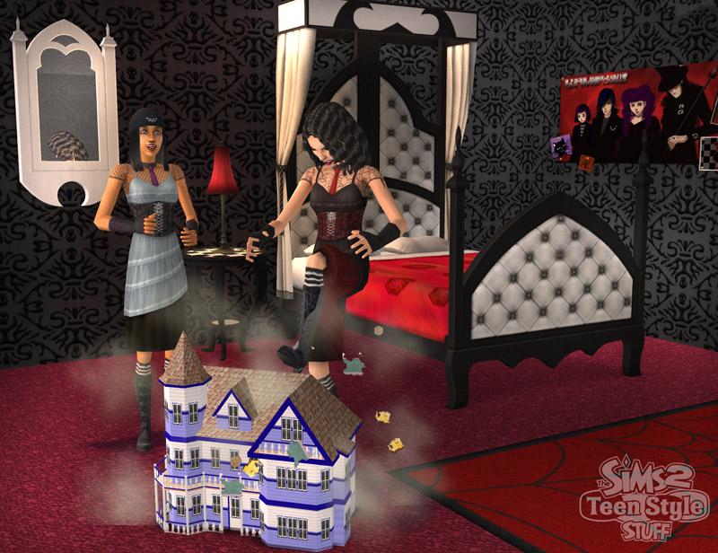 les sims 2 tout pour les ados les sims wiki fandom powered by wikia. Black Bedroom Furniture Sets. Home Design Ideas