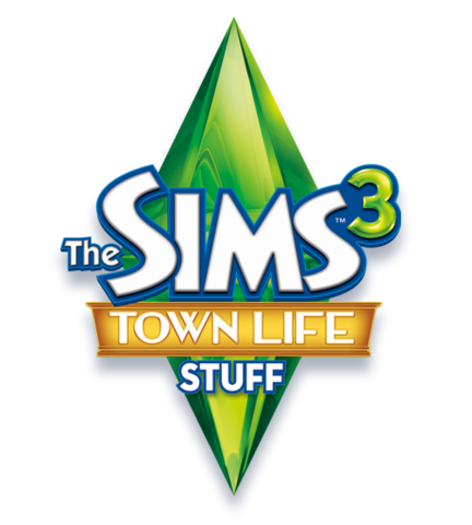 File:The Sims 3 Town Life Stuff Logo.png