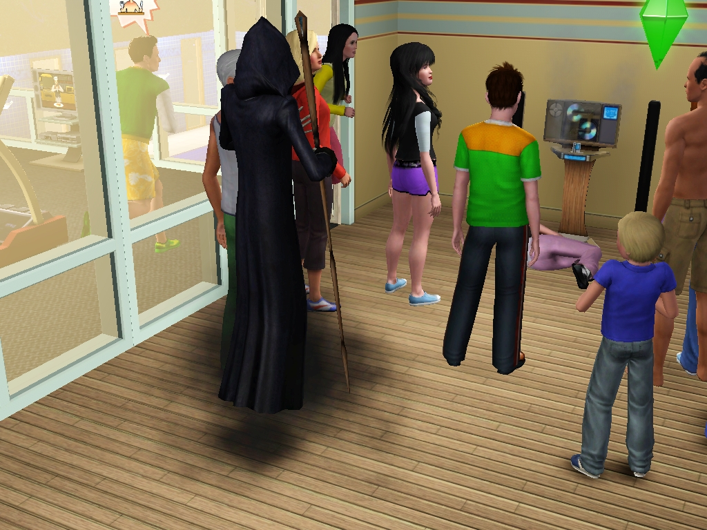 The Sims 4 Tutorial How to add Grim Reaper to your Household