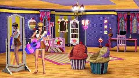 The Sims 3 Katy Perry's Sweet Treats Trailer