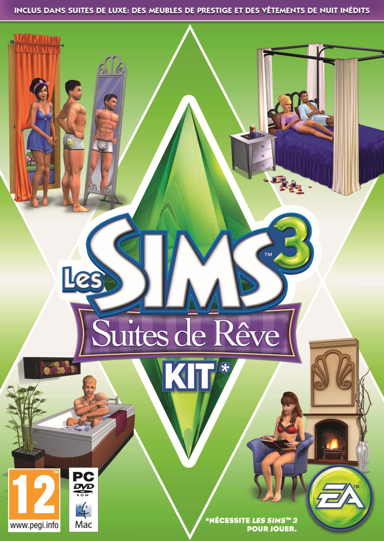 les sims 3 suites de r ve les sims wiki fandom. Black Bedroom Furniture Sets. Home Design Ideas