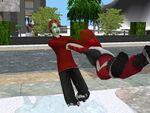 Sims ice skating