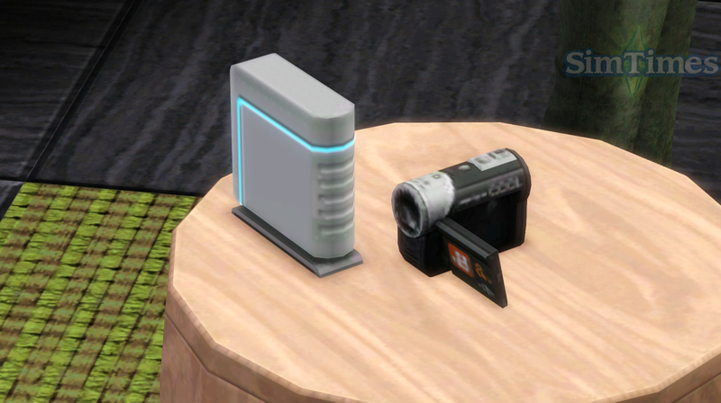 Video Camera The Sims Wiki Fandom Powered By Wikia