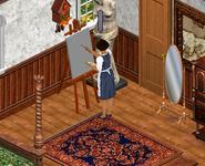 Ann drawing - The Sims