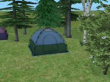 Tent sims2