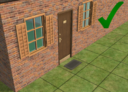 Ts2 custom apartment gg - correct apartment door
