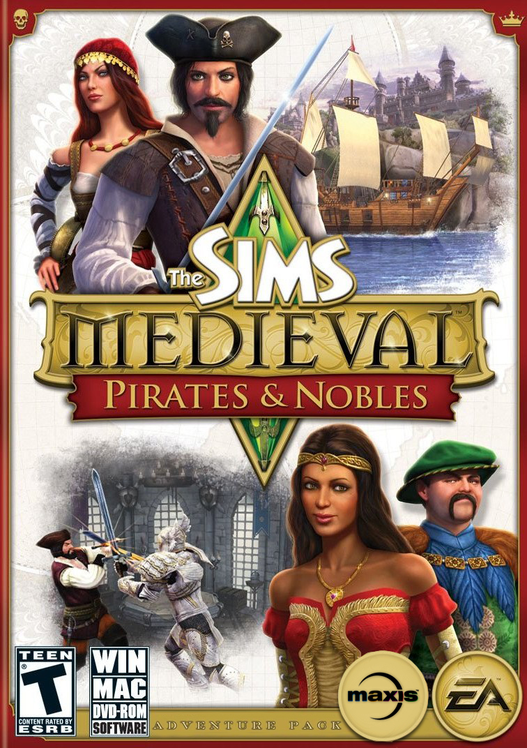 The Sims Medieval - Pirates and Nobles