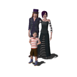 Goth Family (The Sims 3).png