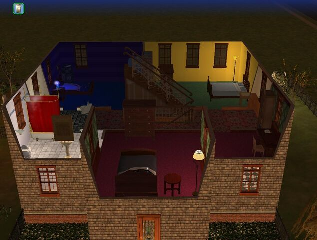 File:Goth home the sims 2 second floor.jpg
