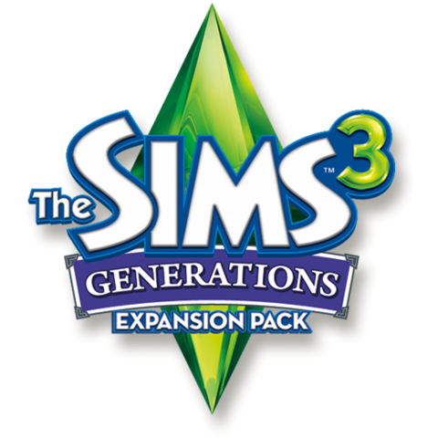 File:The Sims 3 Generations Logo.png