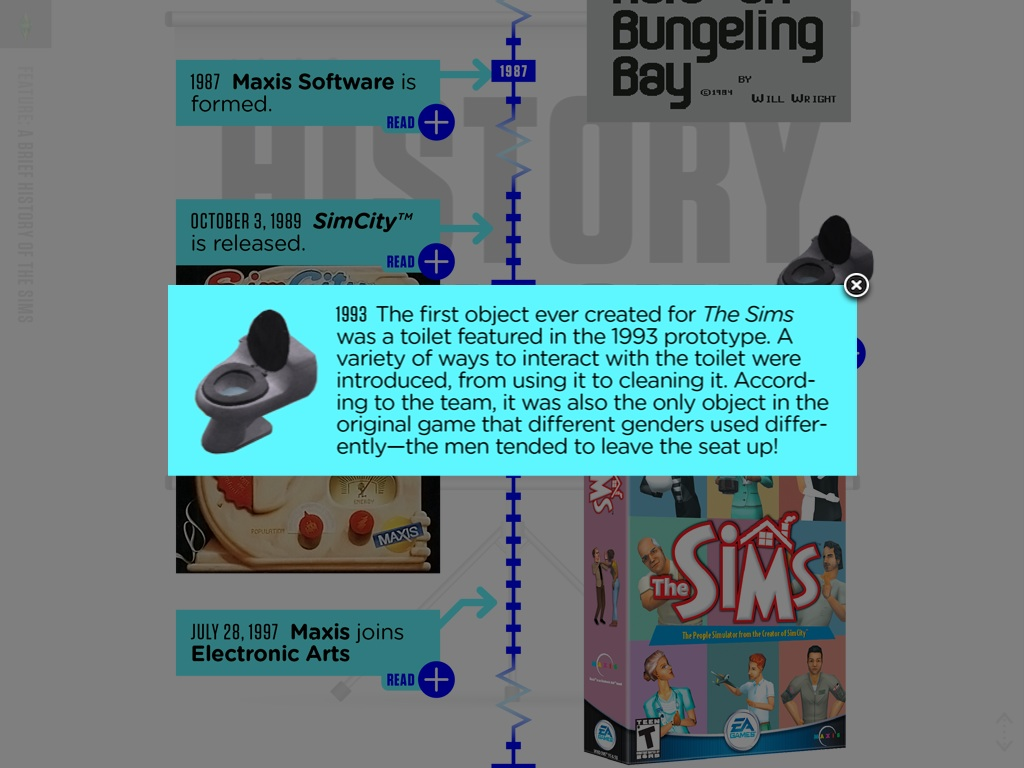 The fact from the Ambitions book seen in The Sims Official Magazine  Toilet  The Sims. The Sim Freeplay Baby Toilet