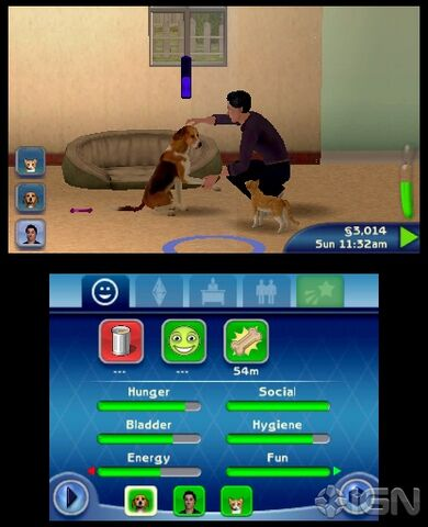 File:TS3 Pets learning handshake skill 3DS.jpg