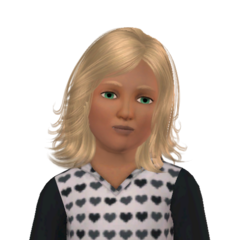 Sim's Tale child Dina headshot