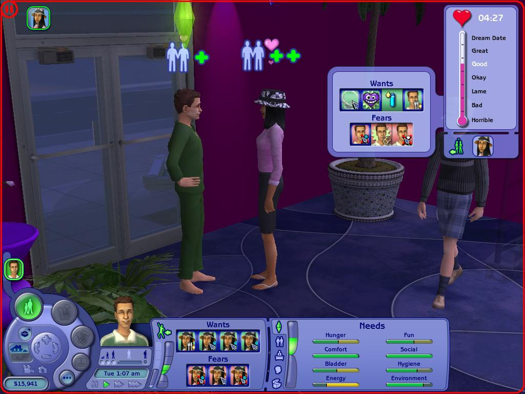 The sims 3 online dating glitch