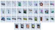 Sims4Movie Hangout Items 2