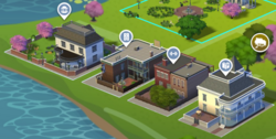 Willow Creek Commercial District Map