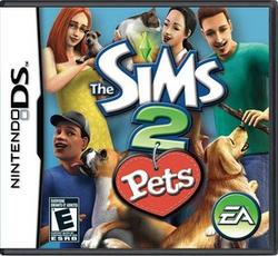 TS2 Pets DS US Boxart