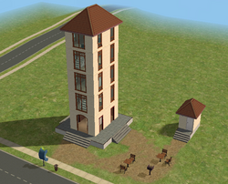 Old Sims State Tower