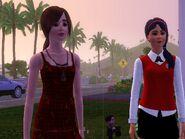 Teen Sandi and Tamera